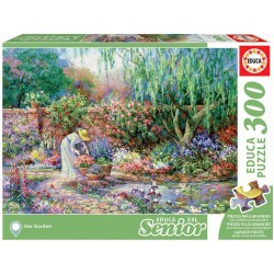 Puzzle Seniur XXL Her Garden 300T 17981