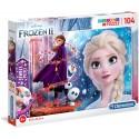 Puzzle JEWELS Frozen 2 104T