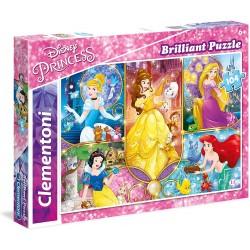 Puzzle BRILLIANT Disney PRINCESS 104T