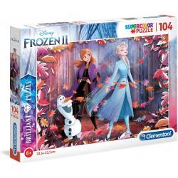 Puzzle BRILLIANT Frozen 2 104T