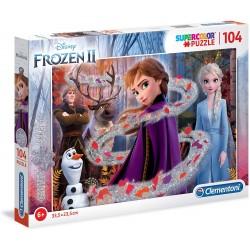 Puzzle Glitter 1 Frozen 2 104T