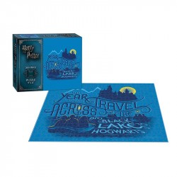 Puzzle Harry Potter Travel cross the big black lake 200T