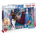 Puzzle 3D Vision Frozen 2 104T
