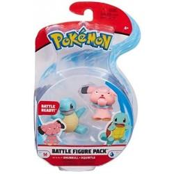 Pokemon Battle Figuren Schiggy & Snubbull