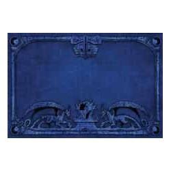 Spielmatte - Drachen, blau
