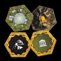 Clockwork Wars: Academy and Volcano Hex Set - EN