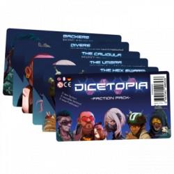 Dicetopia Faction Pack -EN/FR/DE