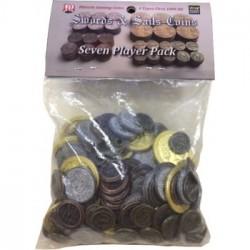 Swords & Sails: Historic Metal Coins 7 Player Pack - EN