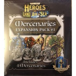 Heroes of Land, Air & Sea: Mercenary Pack 1 - EN
