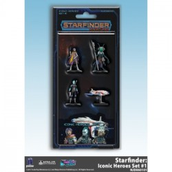 Starfinder RPG - Iconic Heroes Set 1 -EN