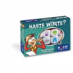 Haste Worte - das wortreiche Würfelspiel Display (8 Spiele) - DE