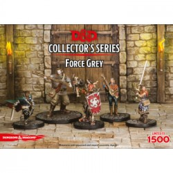 D&D Collector's Series Miniatures - Force Grey - EN