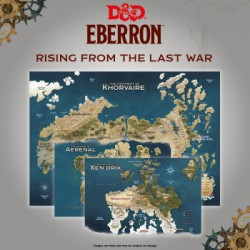 D&D - Rising From The Last War - Eberron - Map Set x3