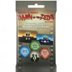 Dawn of the Zeds (3rd Ed.) Expansion Pack 3 Rumors and Rails - EN