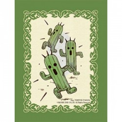 Final Fantasy TCG Supplies - Sleeves - Cactuar (60 Sleeves)