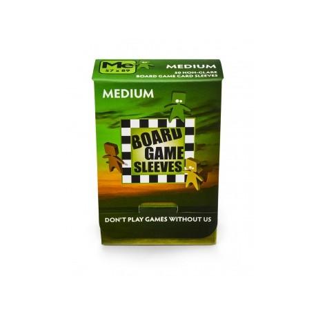 Board Games Sleeves - Non-Glare - Medium (57x89mm) - 50 Pcs