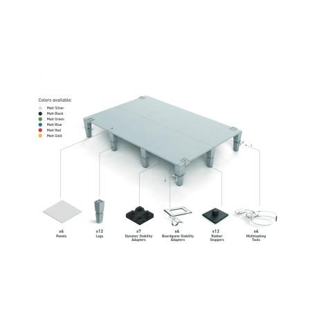 AdapTableTop modular system for boardgames (black)