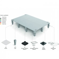 AdapTableTop modular system for boardgames (silver)