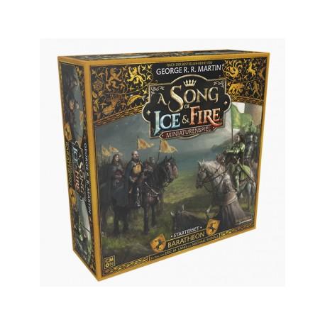 A Song of Ice & Fire - Baratheon Starterset Grundspiel - DE