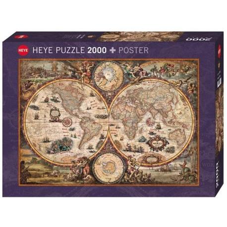 Puzzle Vintage World 2000T