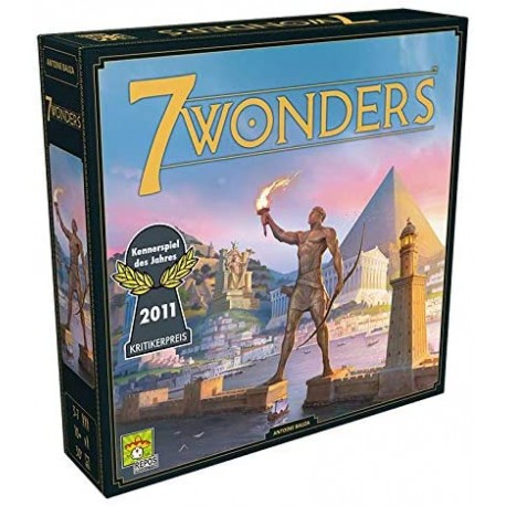7 Wonders Grundspiel (neues Design)