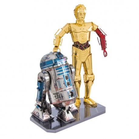 Metal Earth R2-D2 & C-3PO MMG276