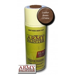 Army Painter Base Primer Leather Brown Spray