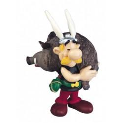 Asterix mit Wildschwein