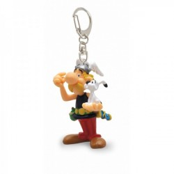 Asterix mit Idefix - Schlüsselanhänger