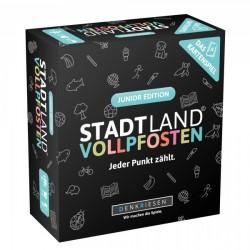 STADT LAND VOLLPFOSTEN: Das Kartenspiel ? Junior Edition