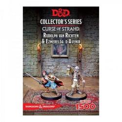 D&D Curse of Strahd: Esmeralda D'Avenir & Rudolph van Richten (2 Figuren)