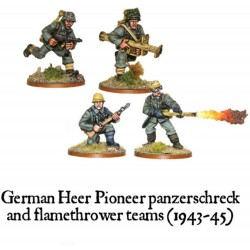 BA German Heer Pioneer Panzerschreck