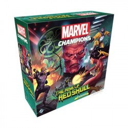 Marvel Champions The Rise of Red Skull Campaign expansion LCG