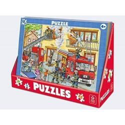 Rahmenpuzzle Feuerwehreinsatz 35T