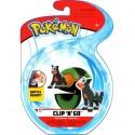 Pokemon ClipNgo mit Pokeball Hunduster