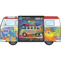 Puzzle VW Bus Tin with Puzzle 550T 8551-5561