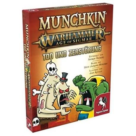 Munchkin Warhammer Age of Sigmar Tod und Zerstörung Erweiterung
