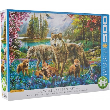 Puzzle Wolf Lake Fantasy 500T 6500-5360