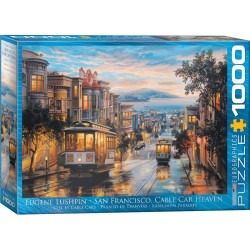 Puzzle San Francisco Cable Car Heaven 1000T 6000-0957