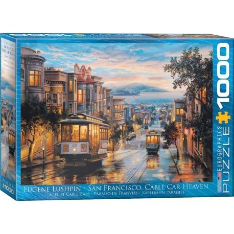 Puzzle San Francisco Cable Car Heaven 1000T 6000-0957