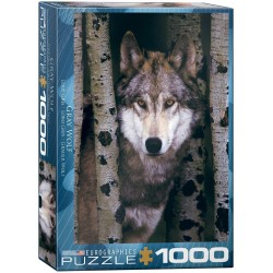 Puzzle Gray Wolf 1000T 6000-1244