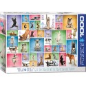 Puzzle Yoga Dogs 1000T 6000-0954