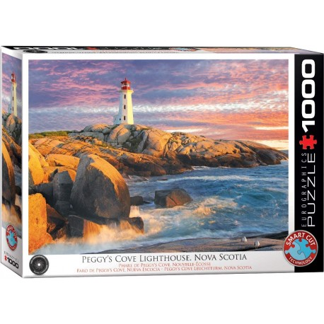 Puzzle Peggy Cove Lighthouse N.Scotia 1000T 6000-5437