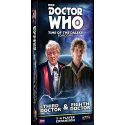 Doctor Who Time of the Daleks 3rd & 8th Doctors Expansion