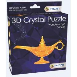 Crystal Puzzle 3D Aladins Wunderlampe 34T