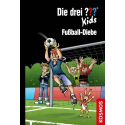 BUCH Die drei Fragezeichen Kids Fußball Diebe