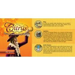 Citrus Landschaftsplättchen