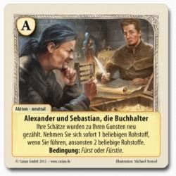 Die Fürsten von Catan Promo Alexander und Sebastian