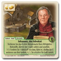 Die Fürsten von Catan Promo Johannes der Advokat