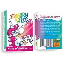 Einhorn Kotze Das Quartett